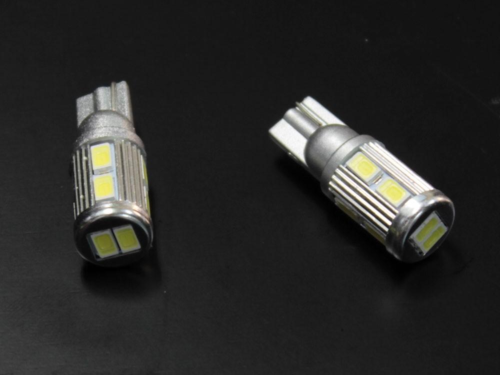 T10 / T16  ステルス LEDバルブ 10チップ ホワイト