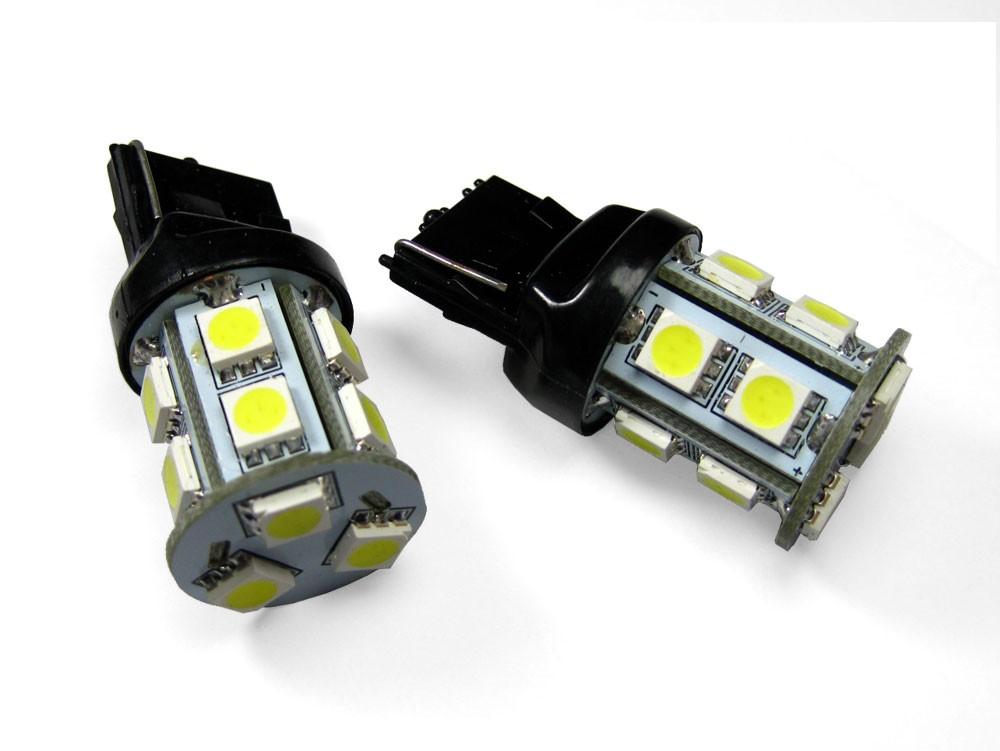 T20 シングル ピンチ部違い対応 LED ウェッジバルブ 13連 アンバー