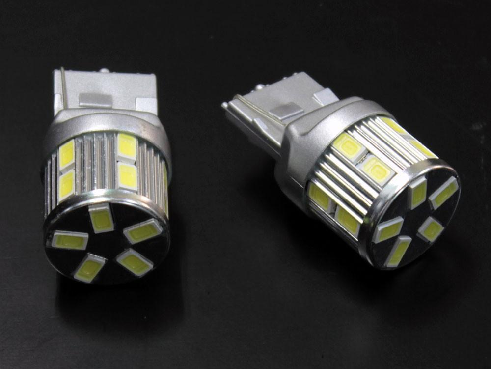 T20 シングル ピンチ部違い対応 ステルス LEDバルブ 17チップ ホワイト
