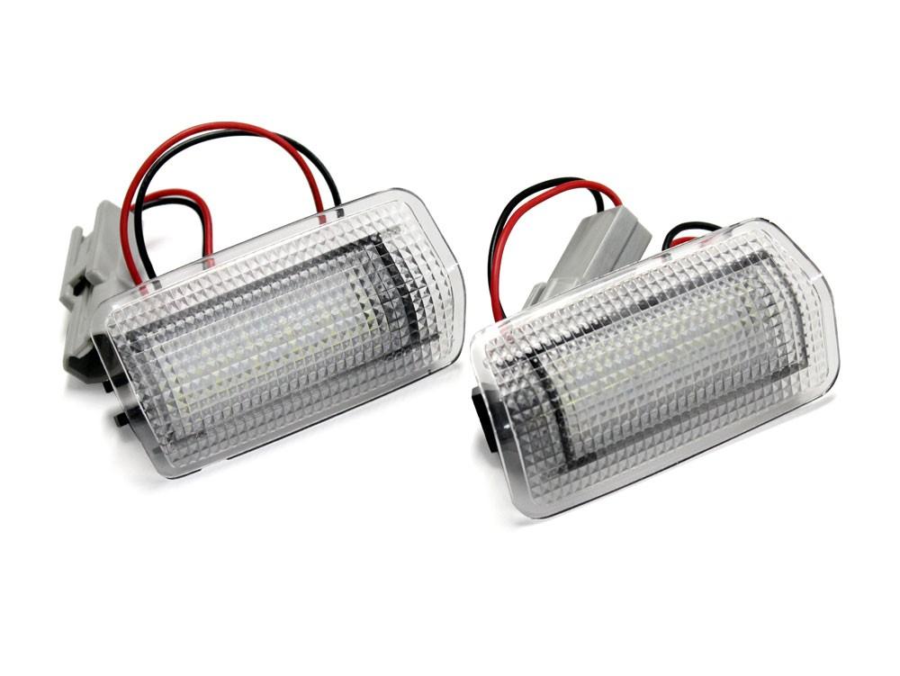 トヨタ / レクサス 汎用 フラッシング LED カーテシランプ レッド / ホワイト