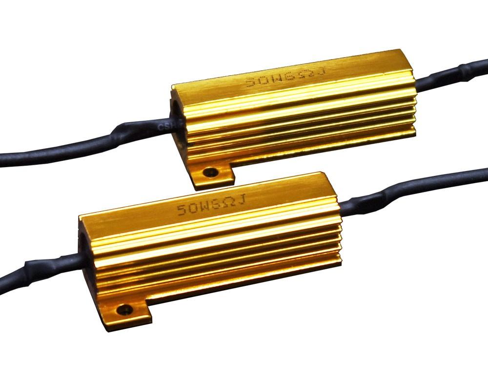 メタルクラッド抵抗器 50W / 6Ω