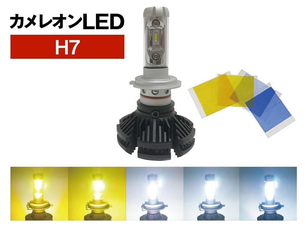 H7 カメレオン オールインワン 一体型LED 25W
