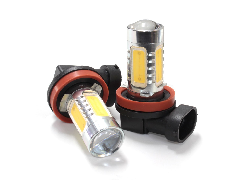 H16 プロジェクター LED フォグバルブ イエロー