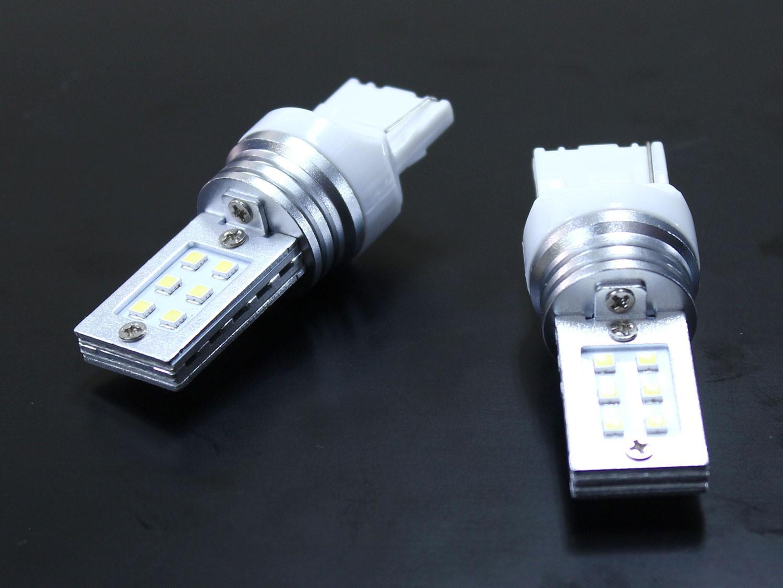 T20シングル ピンチ部違い対応 リフレクター LED バルブ ホワイト