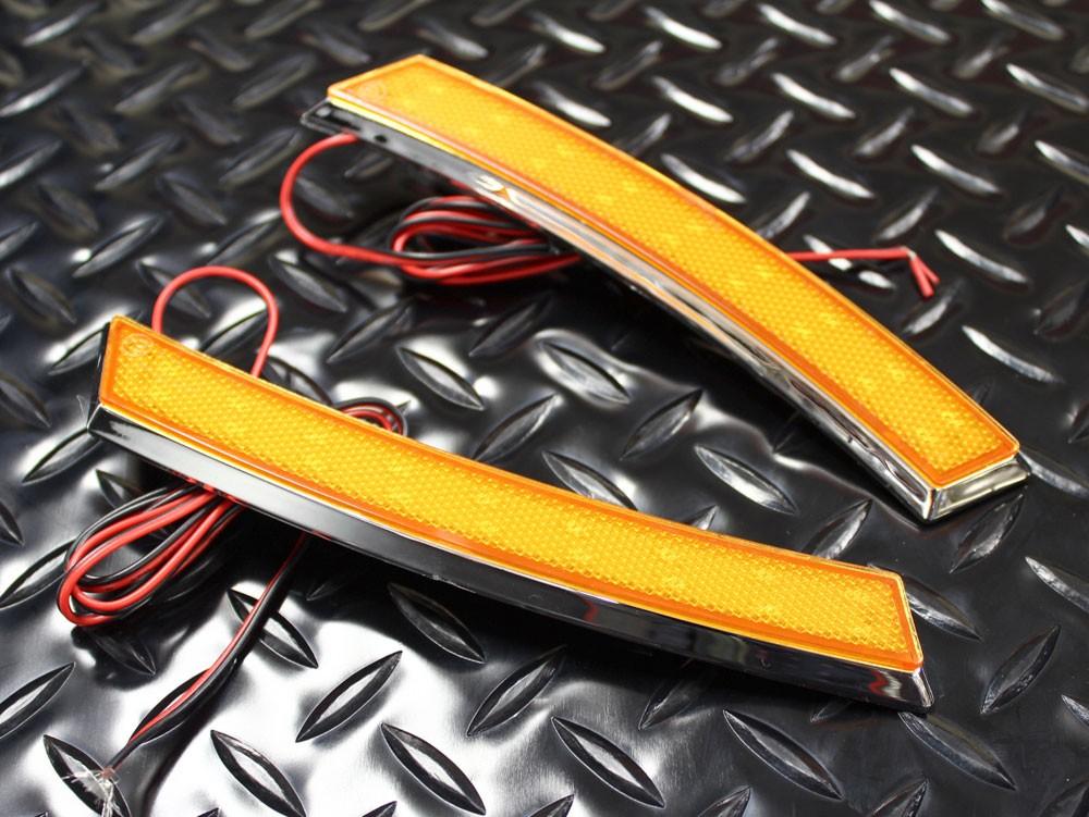 LED フェンダー サイドマーカー オレンジ