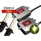HB3 55W HIDコンバージョンキット 3000K