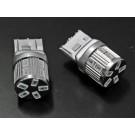 T20 シングル ピンチ部違い対応 ステルス LEDバルブ 17チップ アンバー
