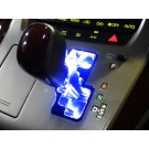 アルファード / ヴェルファイア 20系 シフトゲート LED イルミネーションパネル ブルー