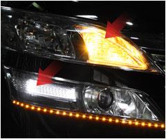 減光調節機能付 ウインカーポジションキット